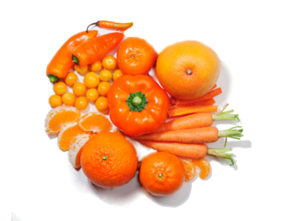 alimentos naranjas